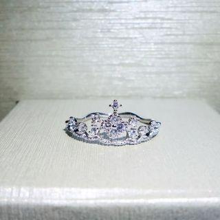 Cincin Mahkota Emas Putih Fliz