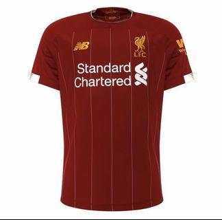 Liverpool Home Jersey 19-20 Authentic