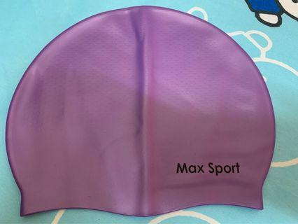 Max Sport 泳帽 (紫色)