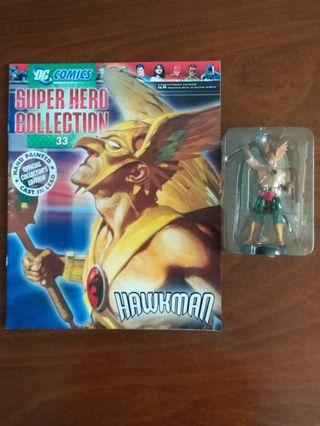 Hawkman figurine from Eaglemoss
