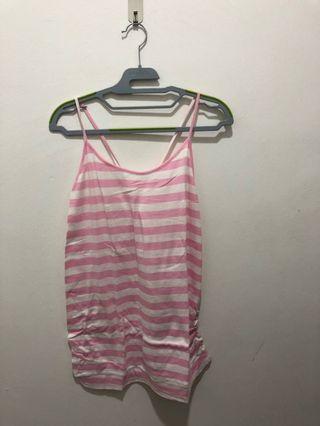 Spring/Bove crossed-back sleeveless top