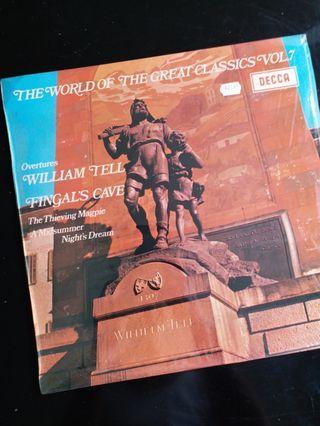 羅西尼〈威廉泰尔〉、孟德爾颂〈芬格爾洞〉等4首序曲