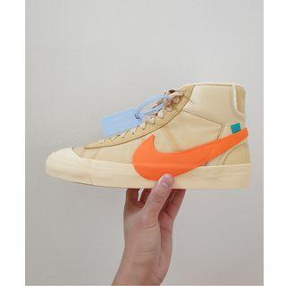 "Off-White x Nike Blazer Mid ""All Hallow's Eve"""