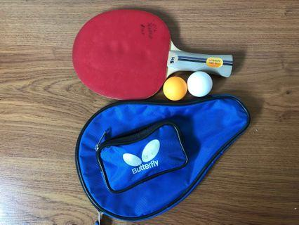 Ping Pong bat & ball #JuneToGo