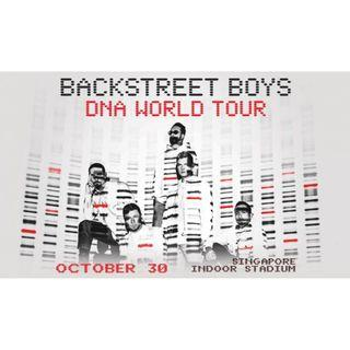 BACKSTREET BOYS DNA World Tour Singapore Concert Tickets