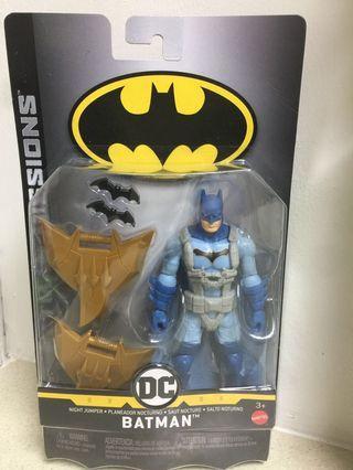 DC batman missions night jumper