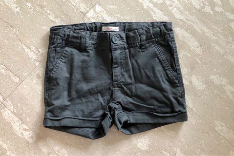 Dark grey shorts