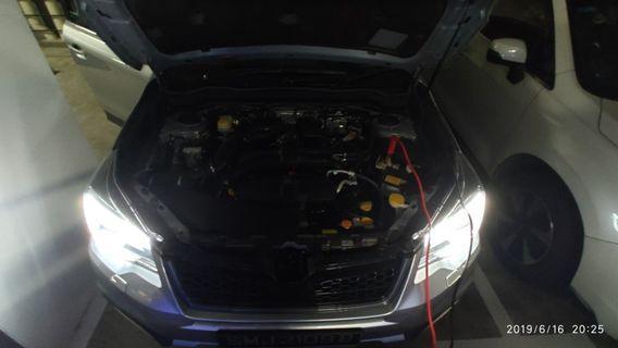 Jumpstart Car
