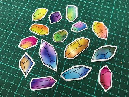 Mix Crystal Stickers