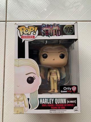 Funko Pop Heroes - Suicide Squad - Harley Quinn Inmate