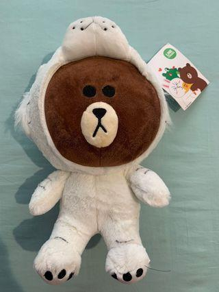 Line Bear in White Tiger Costume