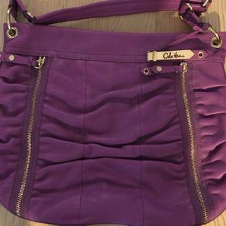 Brand New COLE HAAN Purple Leather purse