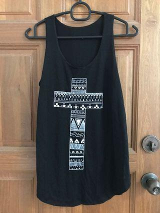 Ten cross singlet