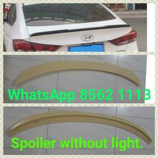 Hyundai elantra/Avante/mazda 3 spoiler