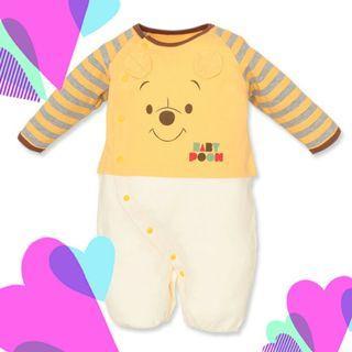西松屋disney winnie the pooh bb (新生兒) 夾衣 日本代購