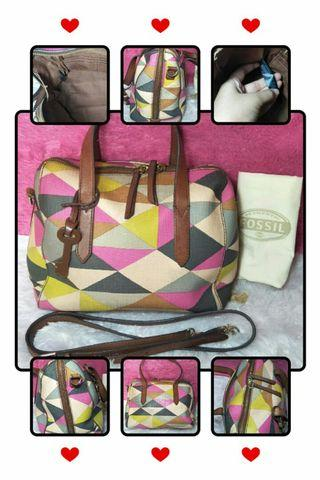 Fossil multi pink