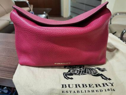 Burberry London Grainy Leather Small Leah Clutch