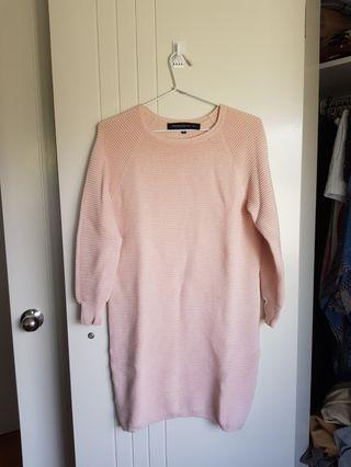French Connection knit sweater dress