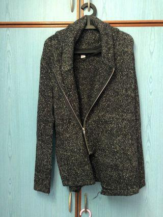 🚚 H&M Black Wool Coat