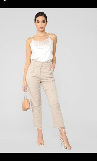 BNWT Fashion Nova Trousers SIZE M