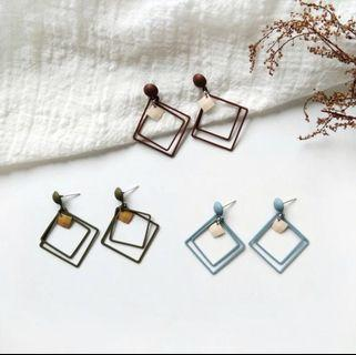 Blitta Geometric Earrings