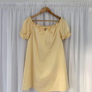 THE ICONIC 🌟 YELLOW DRESS 🌟 SIZE 10