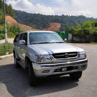 2004 Toyota HILUX 2.5 SR TURBO (A)
