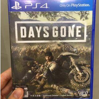 PS4 Days Gone 有code