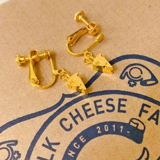 Who moved my cheese earrings 日韓歐美耳環耳夾