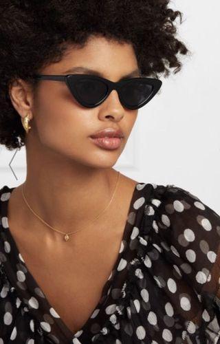 New LE SPECS cat-eye sunglasses