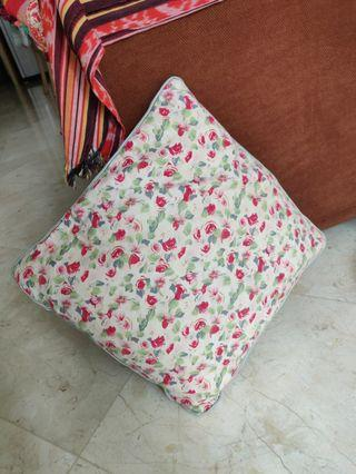 Cute small flowery cushion / pillow