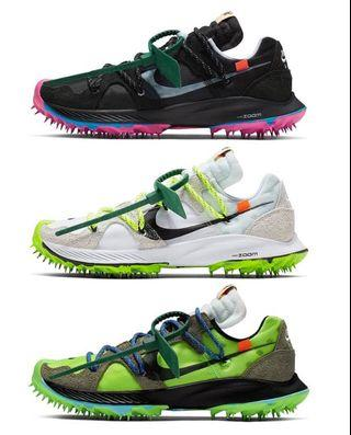 [Preorder] Nike Off White Zoom Terra Kiger