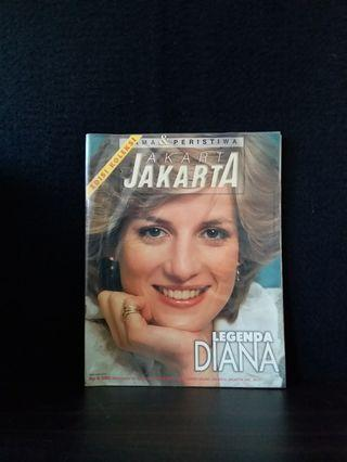 Majalah minggguan no 584 edisi september 1997 Legenda Diana