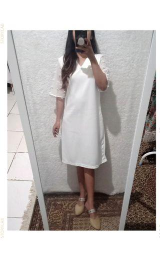 White rubi dress