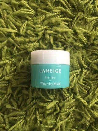 laneige pore waterclay