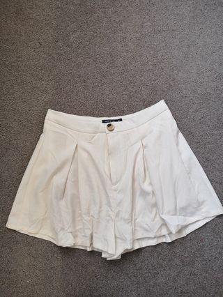 Nasty gal cream shorts #SwapNZ
