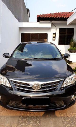 Di Jual Toyota Corolla Altis Type G