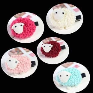 Sheep Hair Clip