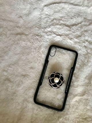 flower popsocket case for iphone xsmax