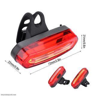 Rear Blinker COB LED blue/red light