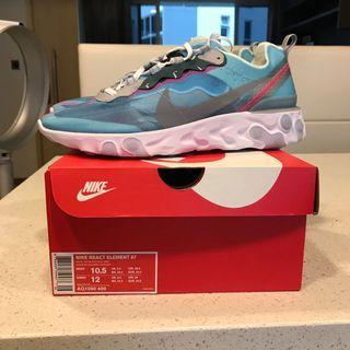 🚚 Nike React Element 87 Royal Tint US10.5