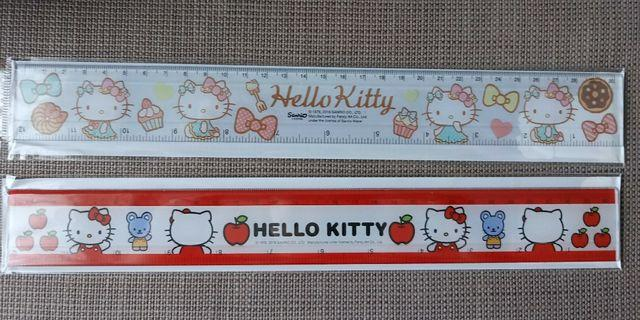 {Free NM} Authentic Hello Kitty Long Ruler