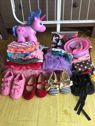 Baby Girl Items 9-18 months 28 pieces #junetogo