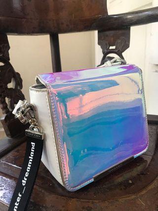 Charles & keith Bag hologram