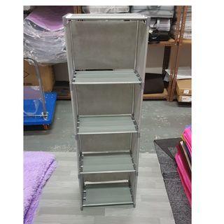 LIVE PHOTO 5 Layer Multi Use bookshelves - Grey