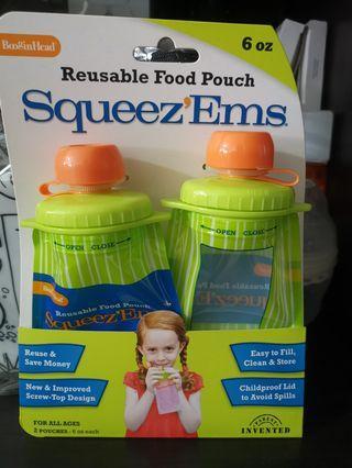 🚚 Squeez'ems reusable pouch