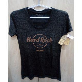 🚚 Hard Rock 男 短袖 T 恤 深灰色 S