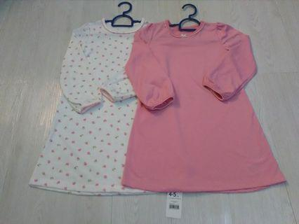 (include postage) combo 2 pcs Dress mothercare girl 4-5 years