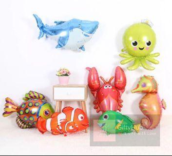 Sea Aquarium Foil Balloon | Instock