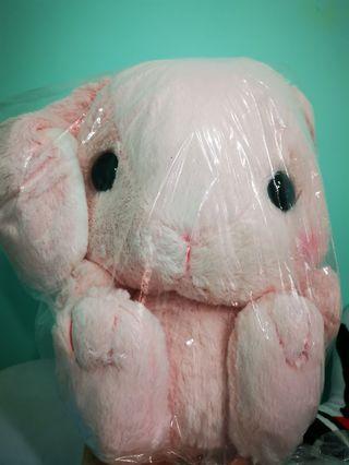 日本Amuse Loppi  Loppy rabbit 大耳兔(粉紅色)